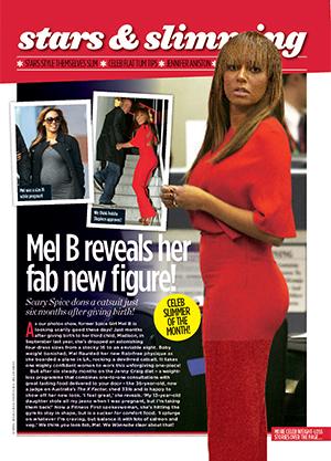 Celebrity slimmer: Mel B