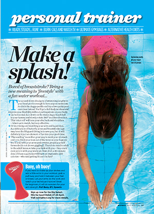 Personal trainer: make a splash!