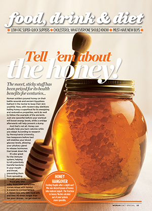 Superfood: tell 'em about the honey